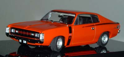 Модель 1:43 Chrysler VH Charger R/T E49 Hemi - orange