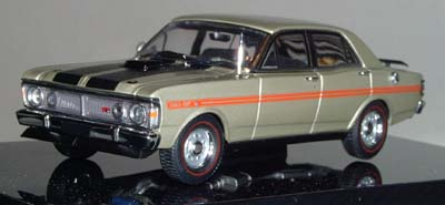 Модель 1:43 Ford XY Falcon GTHO «QUICKSILVER»