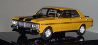 Модель 1:43 Ford XY Falcon GTHO - yellow ochre