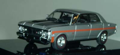 Модель 1:43 Ford XW Falcon GTHO - silver fox