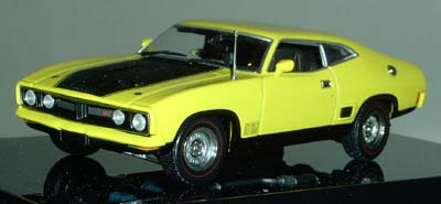 Модель 1:43 Ford XB Falcon GTHardTop - yellow blaze