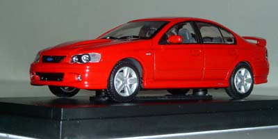 Модель 1:43 Ford BA Falcon XR8 Sedan `VENOM` - red