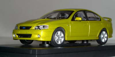 Модель 1:43 Ford BA Falcon XR8 Sedan `ACID RUSH` - YELLOW MET