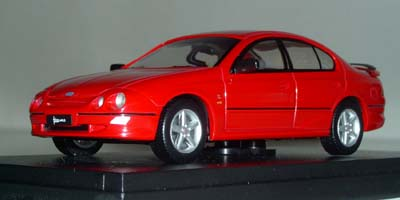 Модель 1:43 Ford AU1 Falcon XR6 Sedan `HOT CHILLI RED`