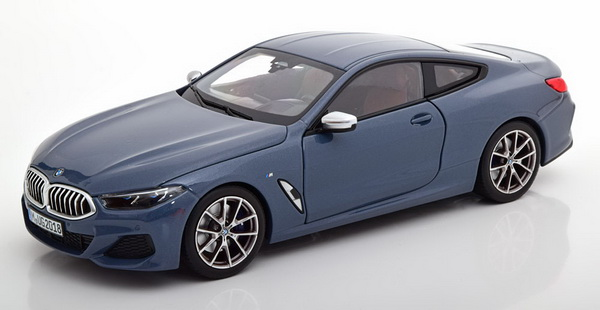 Модель 1:18 BMW 8 Series Coupe 2019 - Barcelona Blue