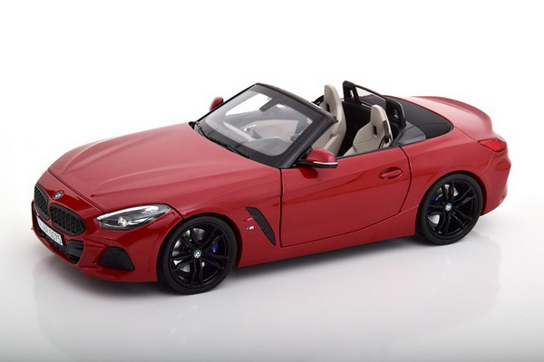 Модель 1:18 BMW Z4 (G29) Roadster 2019 - Red