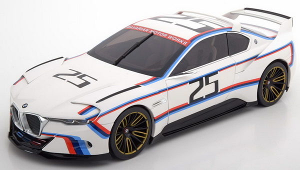 Модель 1:18 BMW 3.0 CSL Hommage R No.25, Pebble Beach 2015