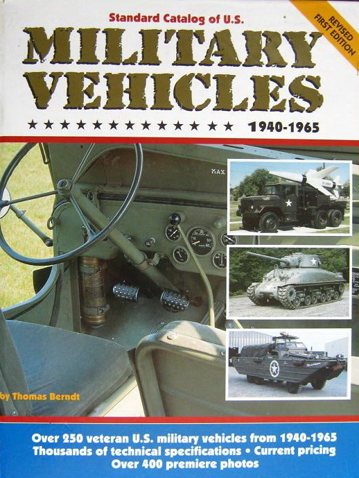 Модель 1:1 Standard Catalog of U.S. Military Vehicles, 1940-1965 (revised 1st edition)