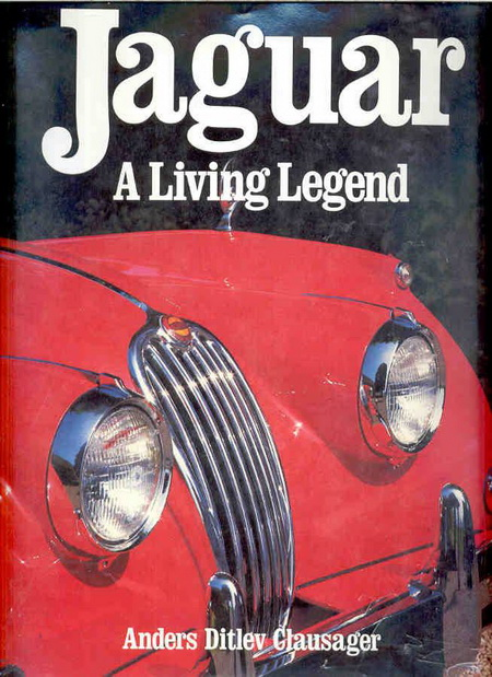 Модель 1:1 Jaguar: A Living Legend Hardcover – by Anders Ditlev Clausager