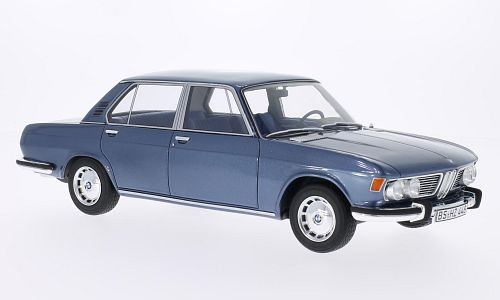 Модель 1:18 BMW 2500 (E3) - grey-blue (L.E.1000pcs)