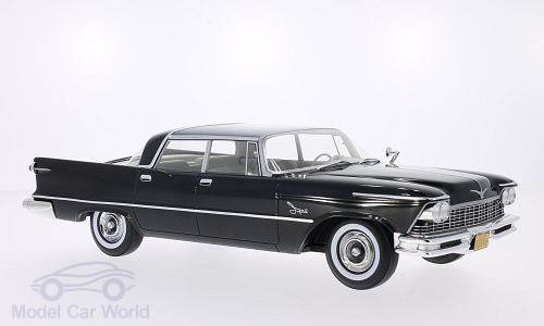 Модель 1:18 Imperial Crown Southampton 4-door - black/grey