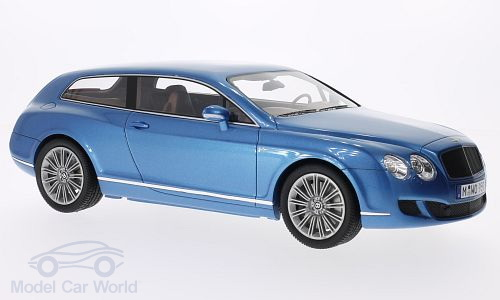 Модель 1:18 Bentley Continental Flying Star by Touring - blue