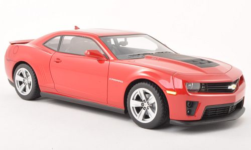 Модель 1:18 Chevrolet Camaro ZL1 - red [смола; без открывающихся элементов]