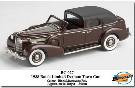 Модель 1:43 Buick Limited Derham Town Car