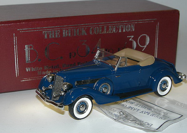 Модель 1:43 Buick M60 Convertible Coupe - Freedom Blue