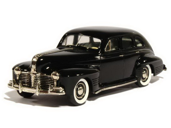Модель 1:43 Pontiac Streamliner Torpédo 4-door Sedan - black