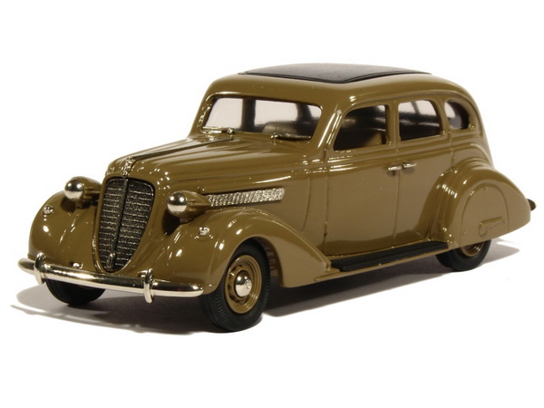 Модель 1:43 Nash Ambassador 8 Sedan - light brown