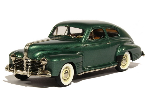 Модель 1:43 Pontiac Streamliner Torpédo Sedan Coupe - thetis green poly