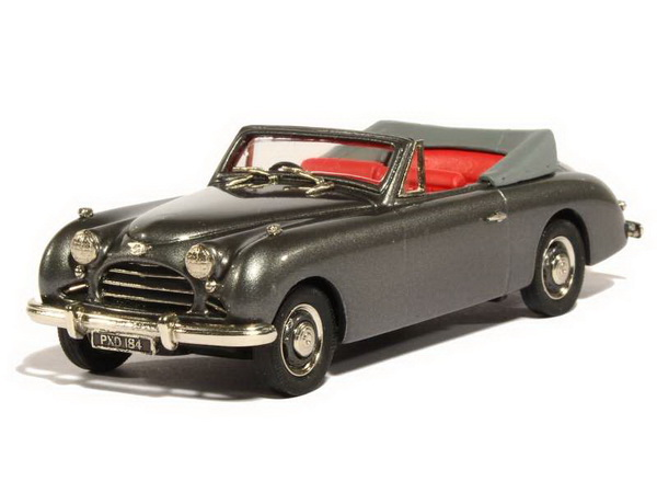 Модель 1:43 Jensen Interceptor Convertible 4 Seater - grey
