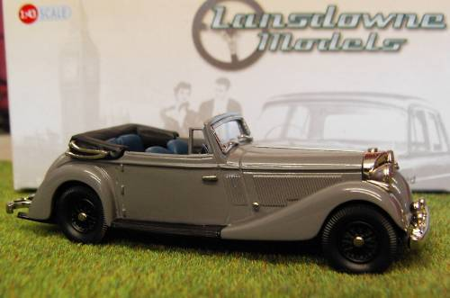 Модель 1:43 Jensen 3.5 Litre S Type Drophead Coupe - grey