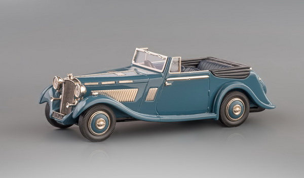 Модель 1:43 Brough Superior Eight 4-Seater - blue