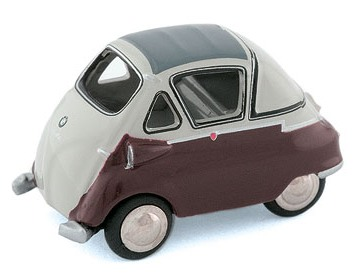 Модель 1:87 BMW Isetta Standard - Grey/dark red