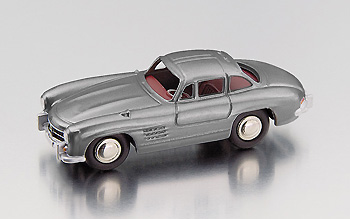 Модель 1:87 Mercedes-Benz 300 SL Gullwing - Grey
