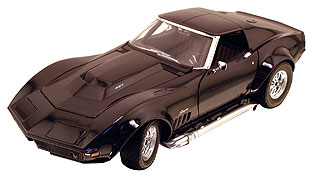 Модель 1:18 Chevrolet Corvette L-88 Coupe - black