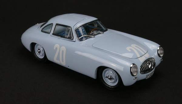 Модель 1:18 Mercedes-Benz 300 SL Great Price of Bern, 1952 #20 blue Limited Edition 1,500 pcs.