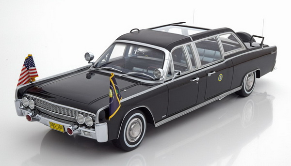 Модель 1:18 Lincoln Continental Limousine SS-100-X «Quick Fix» - black