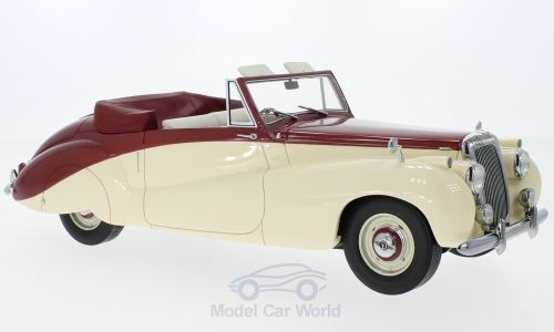 Модель 1:18 Daimler DB18 Special Sports by Barker - red/beige RHD 1952