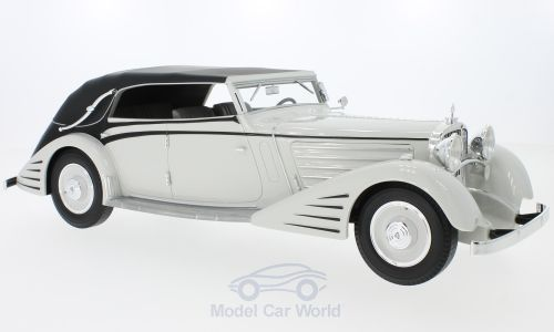 Модель 1:18 Maybach DS8 Stromlinien-Cabriolet Spohn - light grey/black (L.E.300pcs)