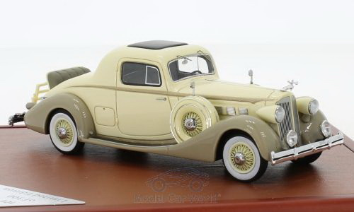 Модель 1:43 Packard Super Eight Coupe - beige/brown (L.E.300pcs)
