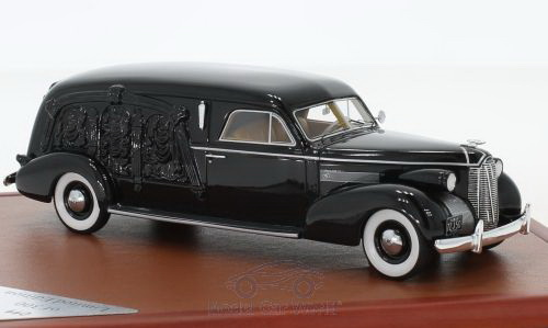 Модель 1:43 LaSalle S&S Hearse - black (L.E.300pcs)