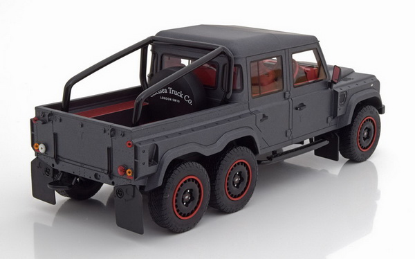 Модель 1:18 Land Rover Defender Flying Huntsman 6x6 - matt grey