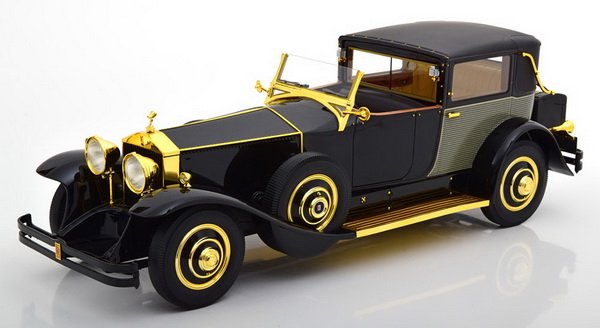 Модель 1:18 Rolls-Royce Phantom I Riviera Town Brougham by Brewster & Co. - black (L.E.300pcs)