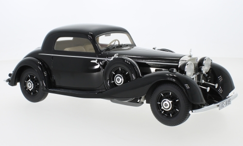 Модель 1:18 Mercedes-Benz 540 K Coupe 1936 - Black