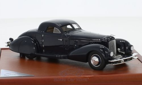 Модель 1:43 Duesenberg J Walker-LaGrande Coupe - dark blue (L.E.300pcs)