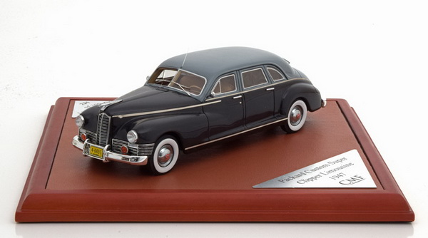 Модель 1:43 Packard Custom Super Clipper Limousine - black/grey (L.E.300pcs)