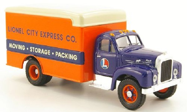 Модель 1:50 Mack B Koffer-LKW «Lionel City Express Co.»