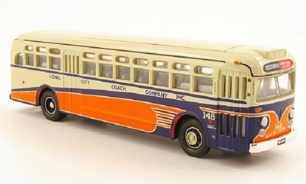 Модель 1:50 GM 4507, Lionel City Coach Company Inc.