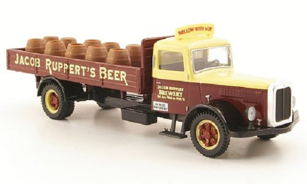 Модель 1:50 White Pritschen-LKW, Jacob Rupperts Beer