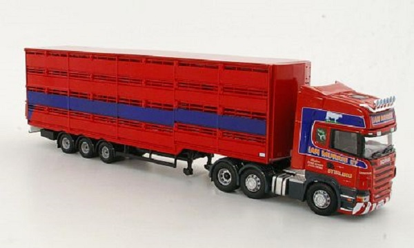 Модель 1:50 Scania R, Ian Murrie Haulage Ltd, Viehtransport-SZ