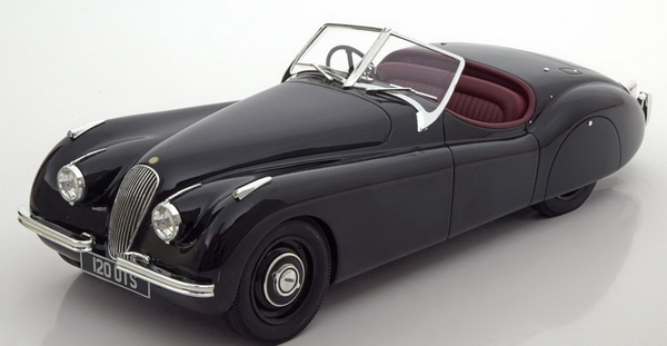 Модель 1:18 Jaguar XK 120 OTS Roadster - black