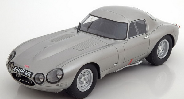Модель 1:18 Jaguar E-Type Low Drag - silver