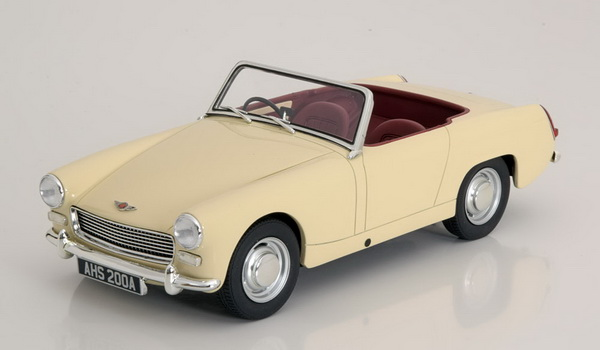 Модель 1:18 Austin Healey Sprite MK2 Roadster 1961 - cream/white