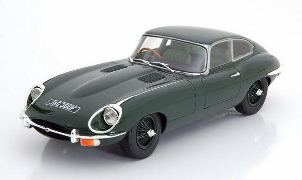 Модель 1:18 Jaguar E-Type Serie 2 Coupe 1968 - dark green