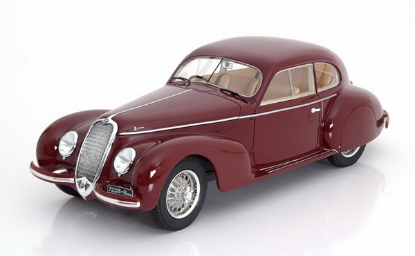 Модель 1:18 Alfa Romeo 2500S Berlinetta Touring 1939 - dark red