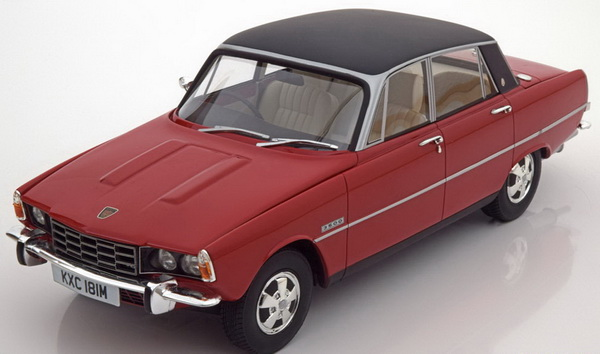 Модель 1:18 Rover 3500 P6b Saloon 1976 - red/black
