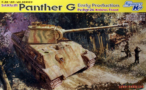 Модель 1:35 Panther G Early Production Pz.Rgt.26 Italian Front